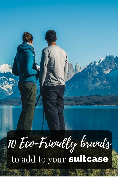 10 Eco-Friendly brands to add to your suitcase