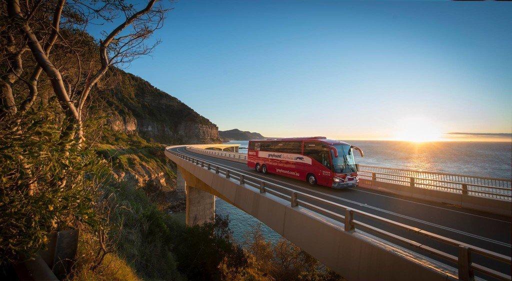 Trip to Australia cost: Greyhound Australia bus