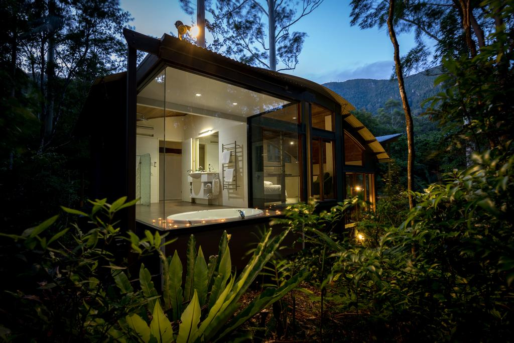 Springbrook National Park Beautiful cabin at Crystal Creek Rainforest Retreat. Photo by Crystal Creek Rainforest Retreat.