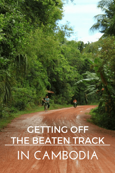 In Cambodia getting off the beaten path is almost a must-do. Here, nothing beats getting out into the country side and away from the big cities.