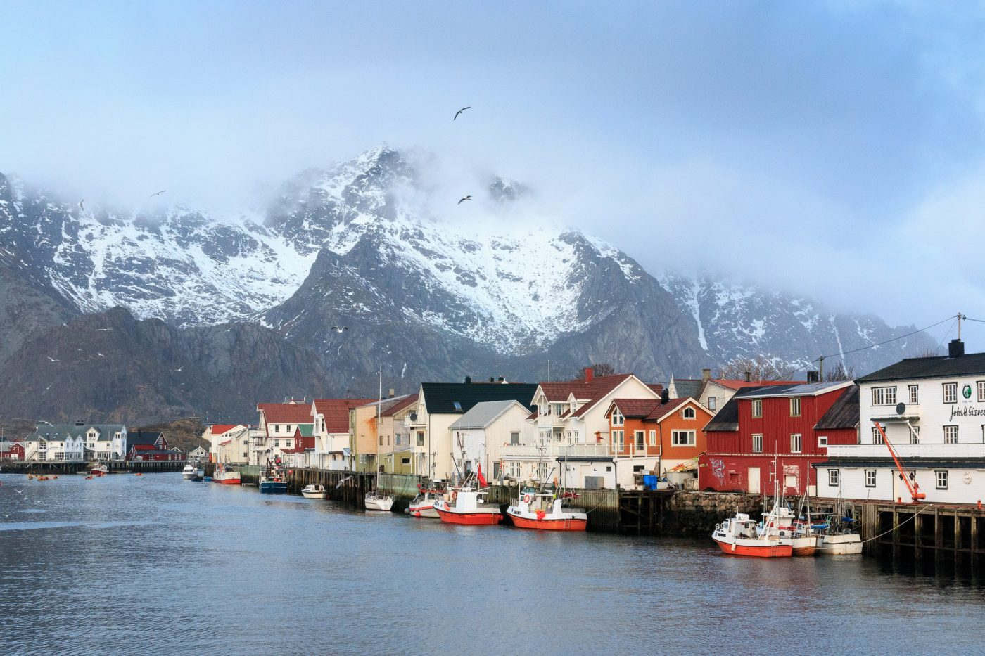 Top eco-friendly destinations: Henningsvaer, Lofoten, Norway