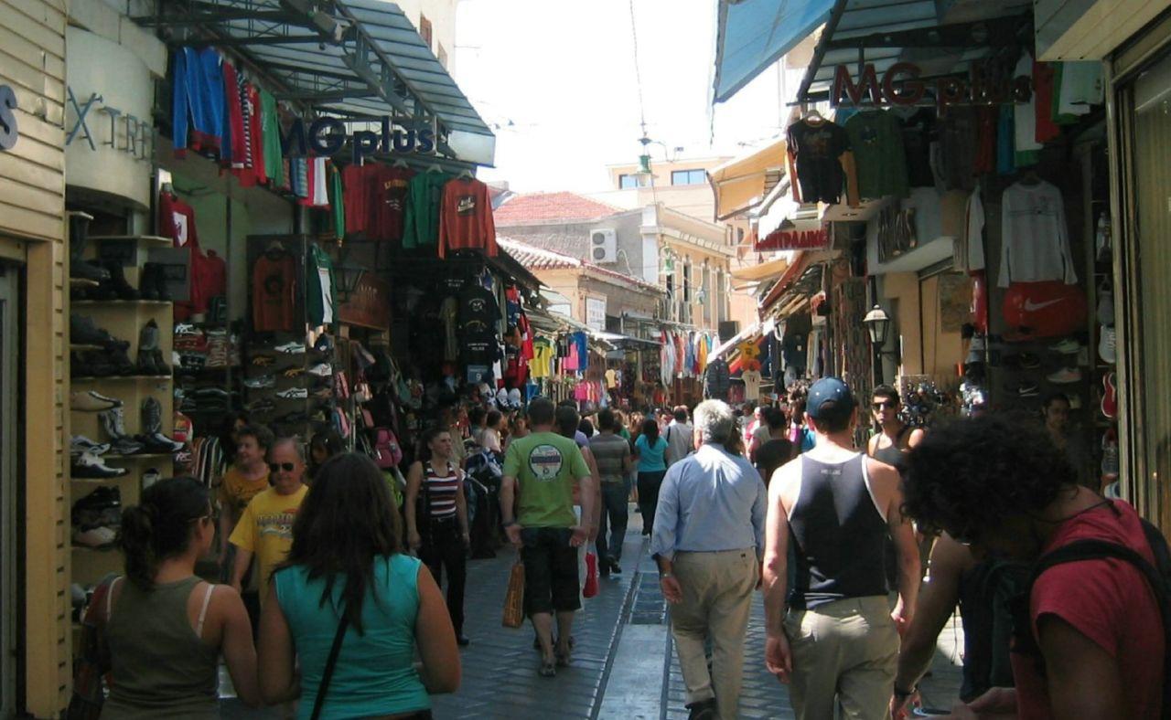 Monastiraki: Flea Market, Athens. Photo by Wally Gobetz via Flickr CC