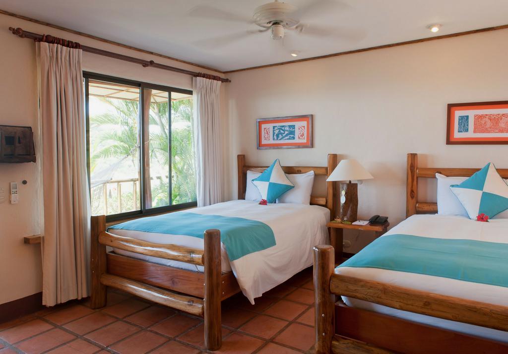 Private room at Punta Islita in Samara Costa Rica. Photo by Punta Islita Hotel.