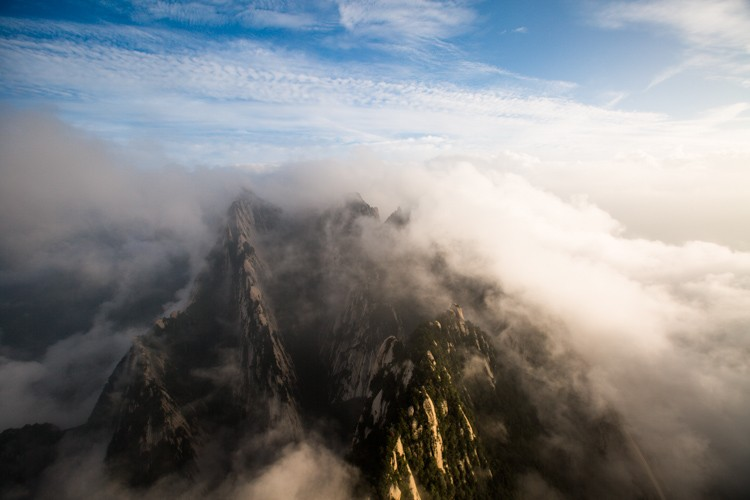 Beautiful places in China: Views from Huashan. Photo by sunriseOdyssey via Flickr