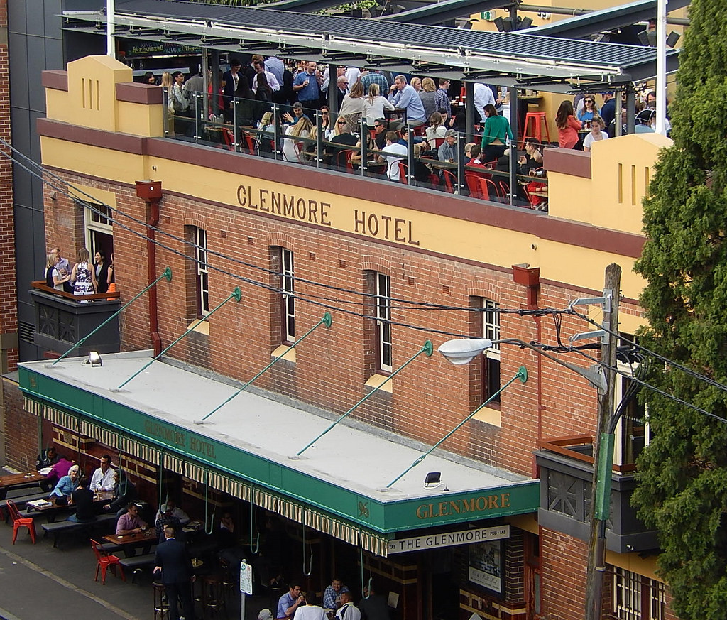 Local tips for Sydney, Glenmore Hotel, Sydney. Australia