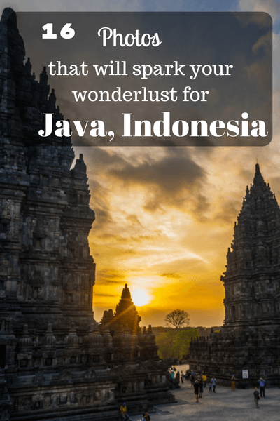 From famous temples and lush green tea plantations to incredible views that truly take your breath away... Java seems to have it all!