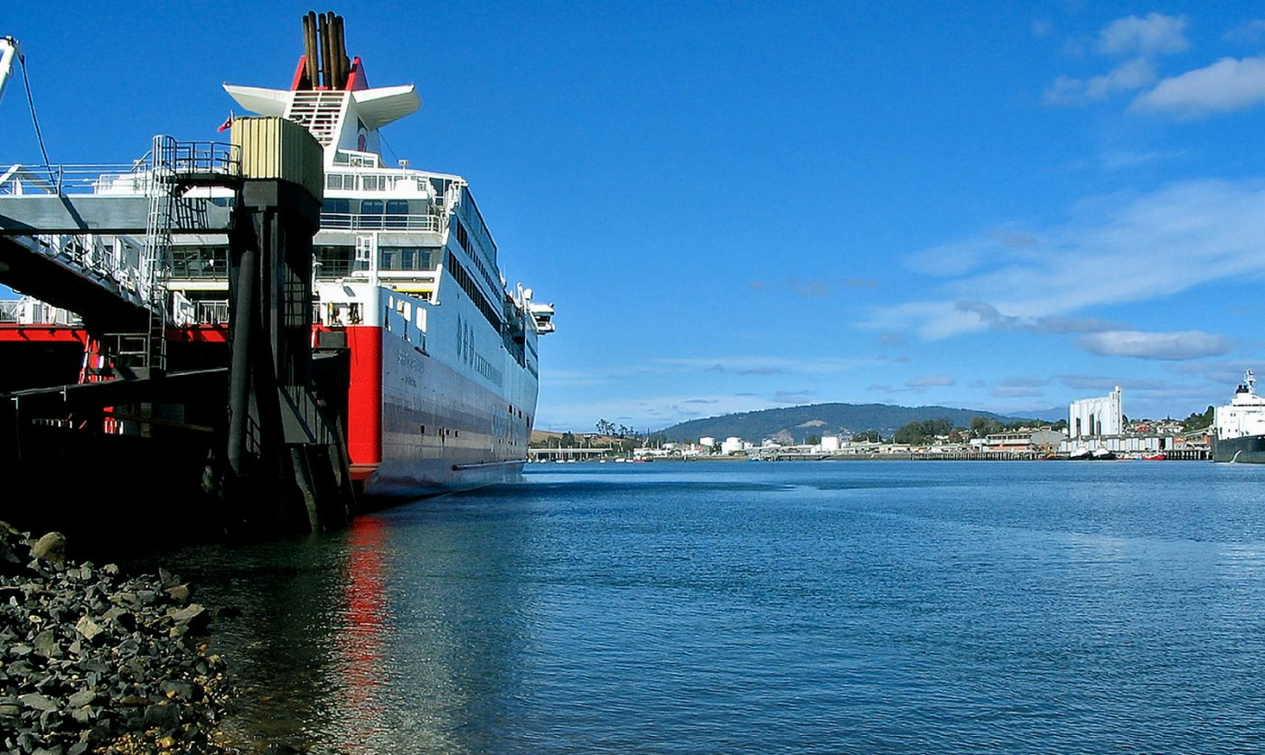 What to do in Devonport: ship near the port