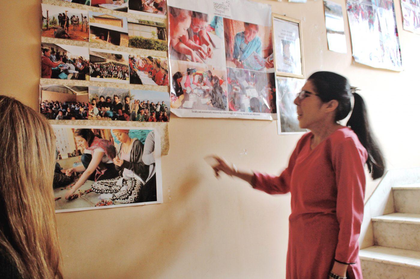Fair Trade in Nepal: story telling at Seven Women Organization