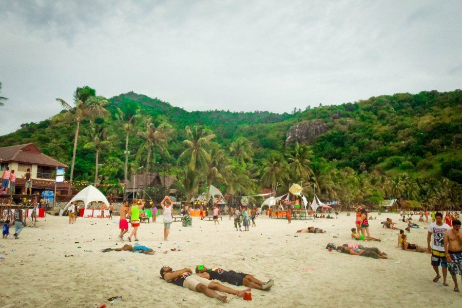 From the Jungle to the Beach at Thailand's Full Moon Party