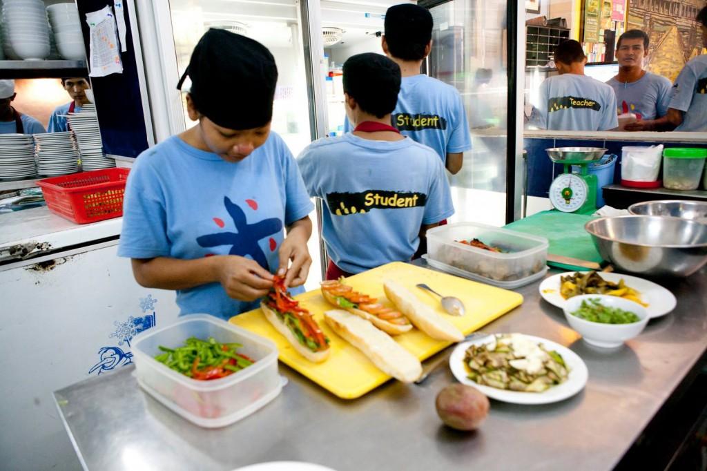 Tree Alliance restaurant Cambodia - things to do in Cambodia