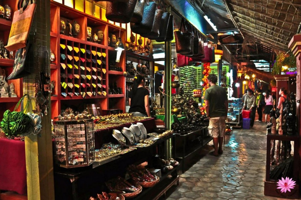 Siem Reap's Night Market - what to do in Cambodia