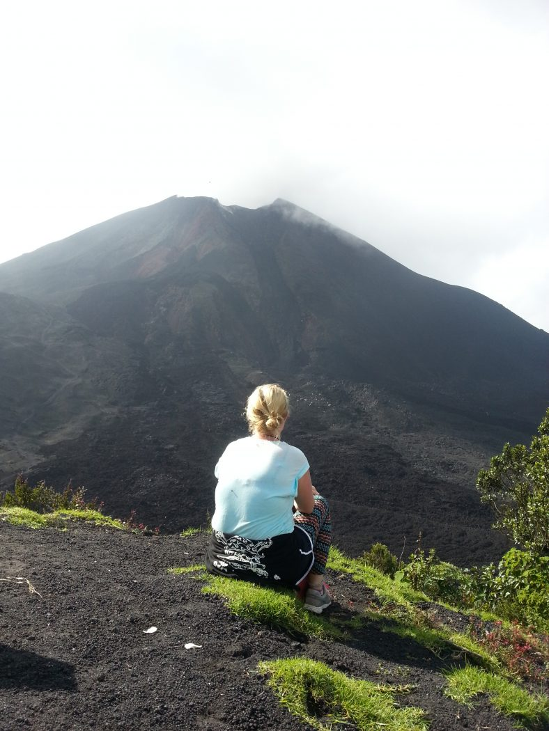 Things to Do in Guatemala: Overlooking a mountain in Guatemala