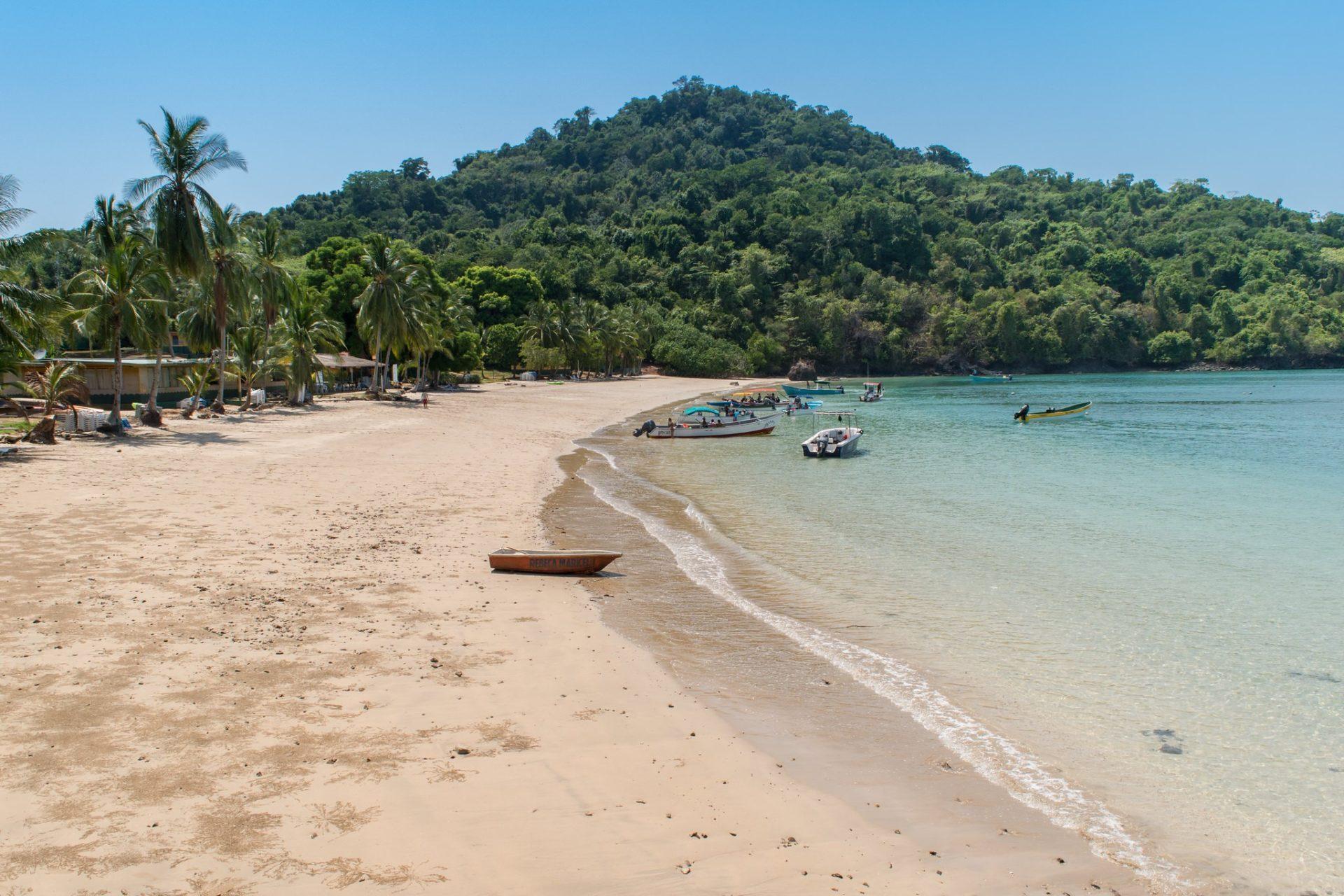 Insel Coiba Strand, Santa Catalina, Panama