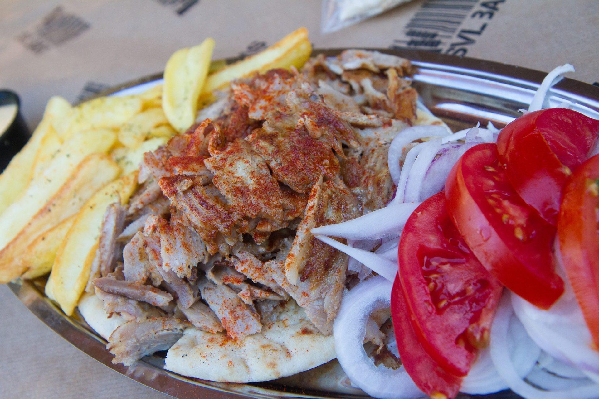 Souvlaki in Athens, Greece. Photo by Garrett Ziegler via Flickr CC