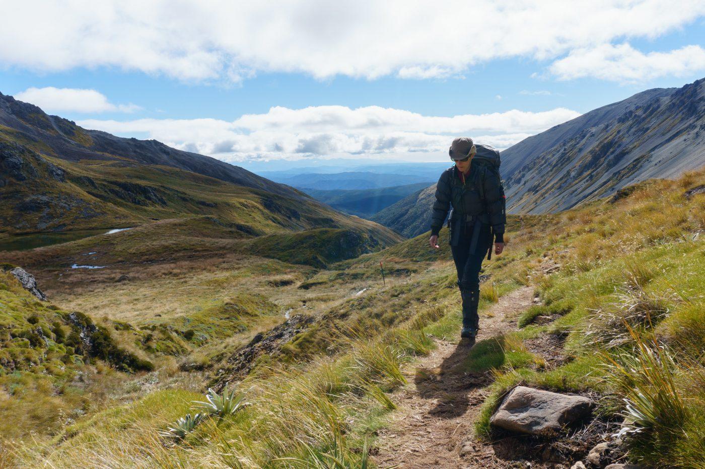 New Zealand South Island Hikes - Angelus Hut (via Pinchgut Track), Nelson Lakes