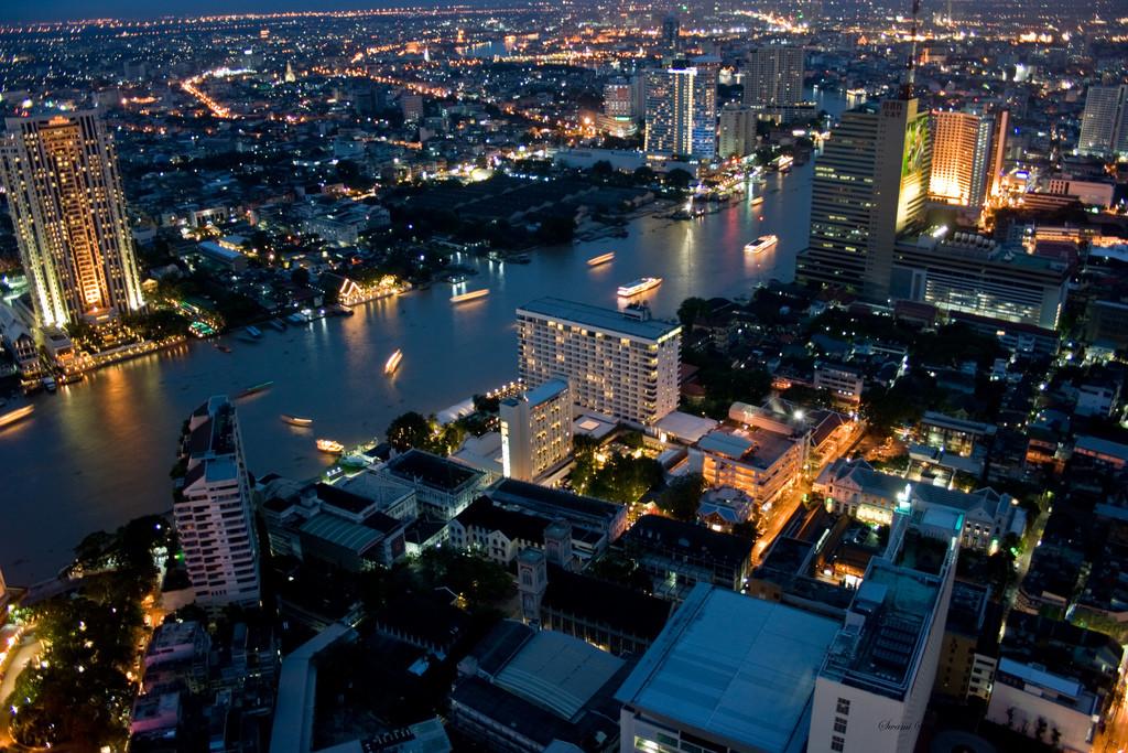 Bangkok Skyline. Thailand