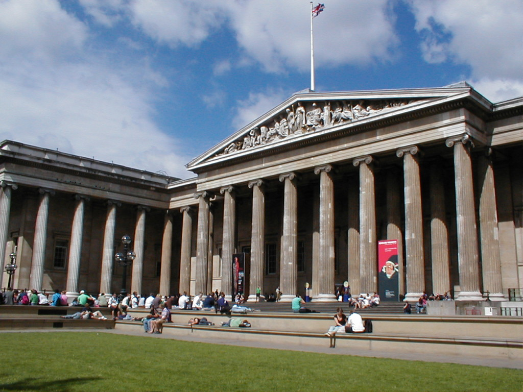 British Museum, London. Photo by Heather Kennedy via Flickr CC