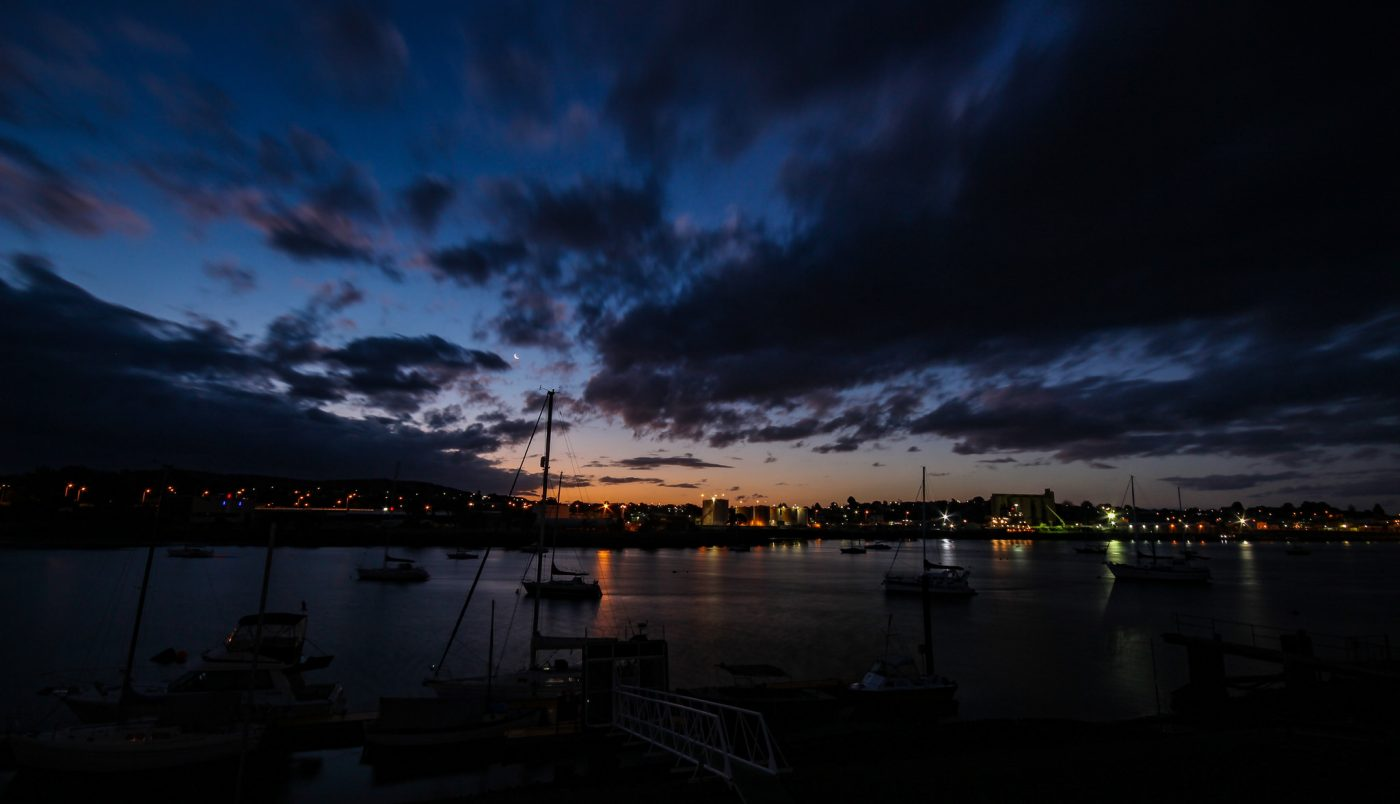 What to do in Devonport: night sky of Devonport
