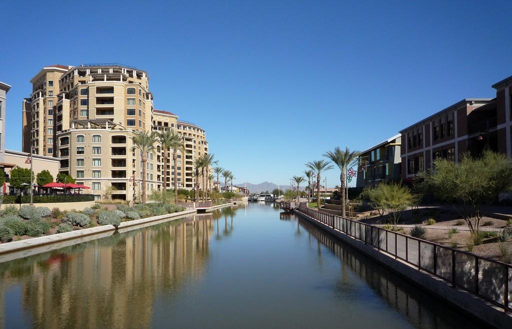 Scottsdale Waterfront. Photo by D. Patrick Lewis via Flickr CC