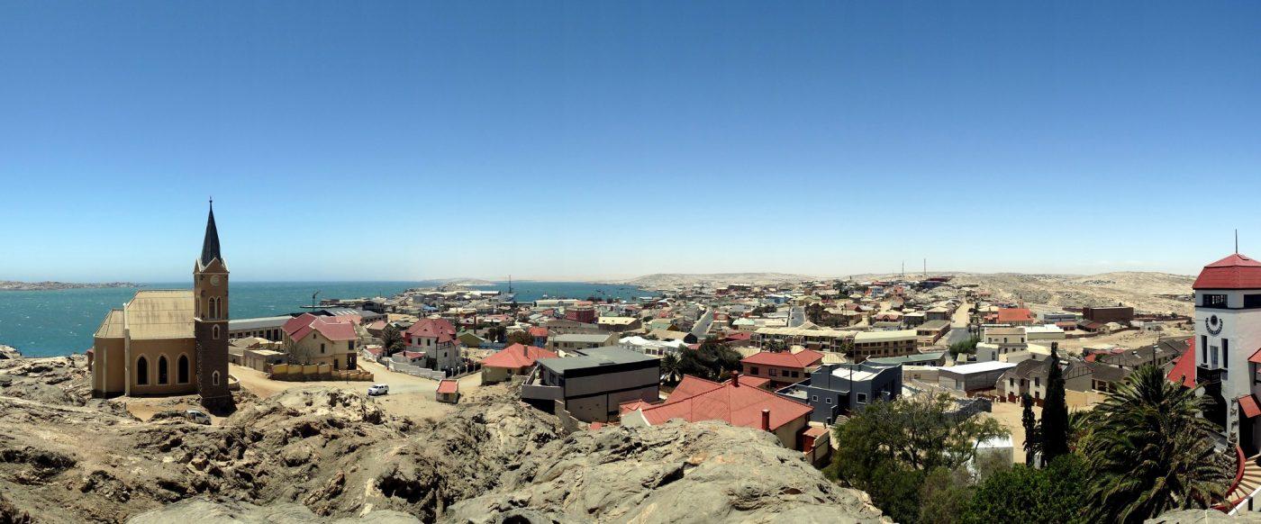 Lüderitz Panorama. Photo by Henning Supertramp via Flickr CC