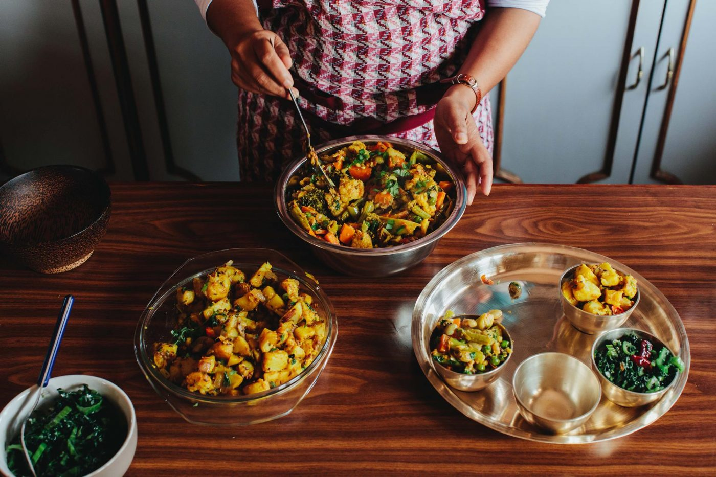 Fair trade in Nepal: cooking at Seven Women