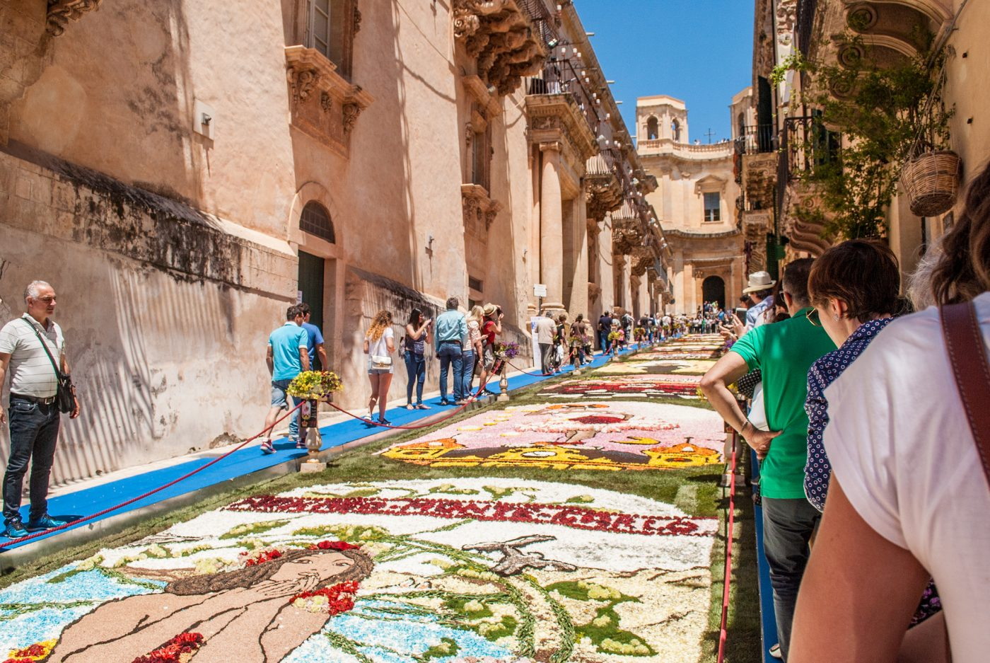 Infiorata Festival is among the things to do in Sicily