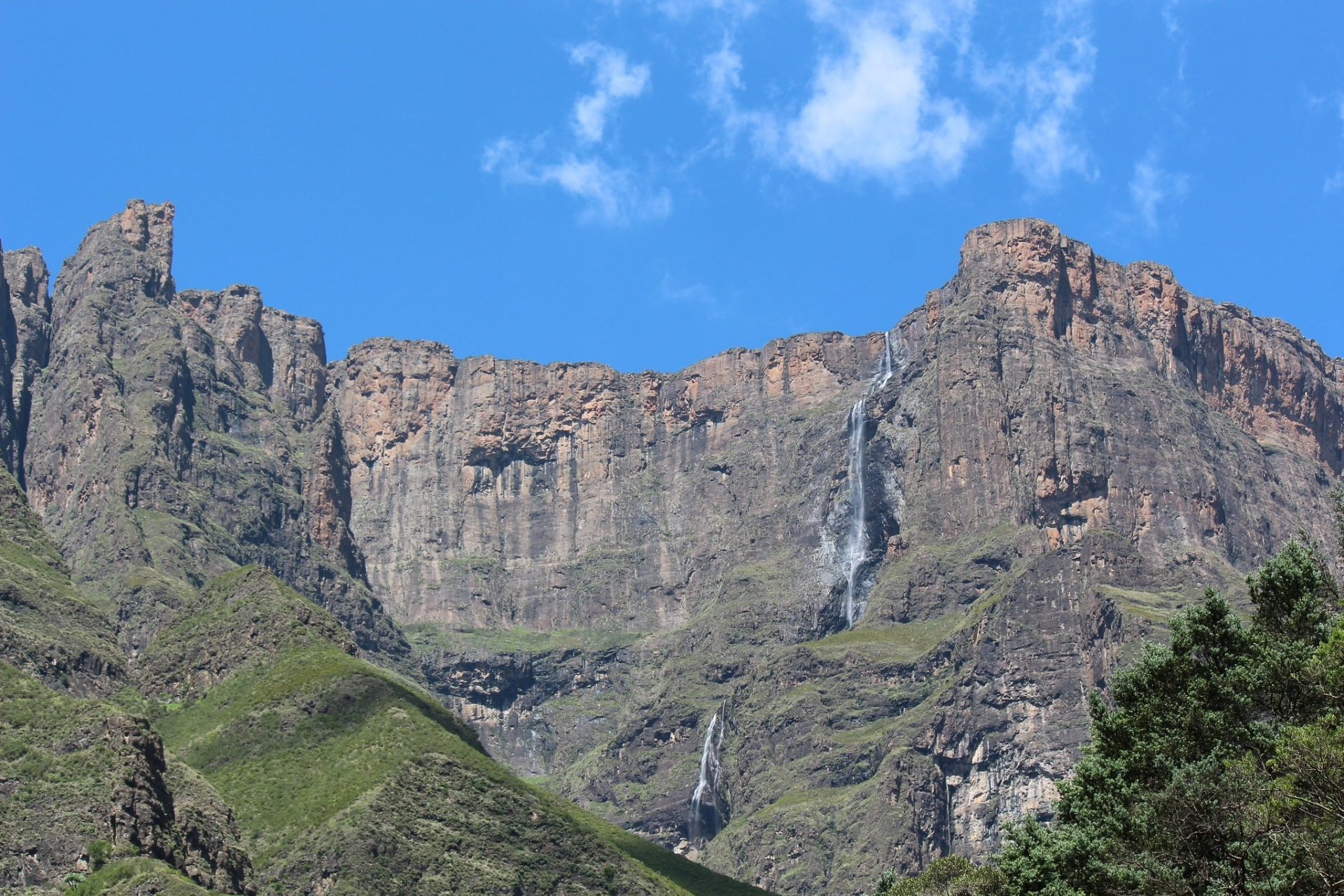Tugela Falls, Drakensberg, Royal Natal National Park, South Africa