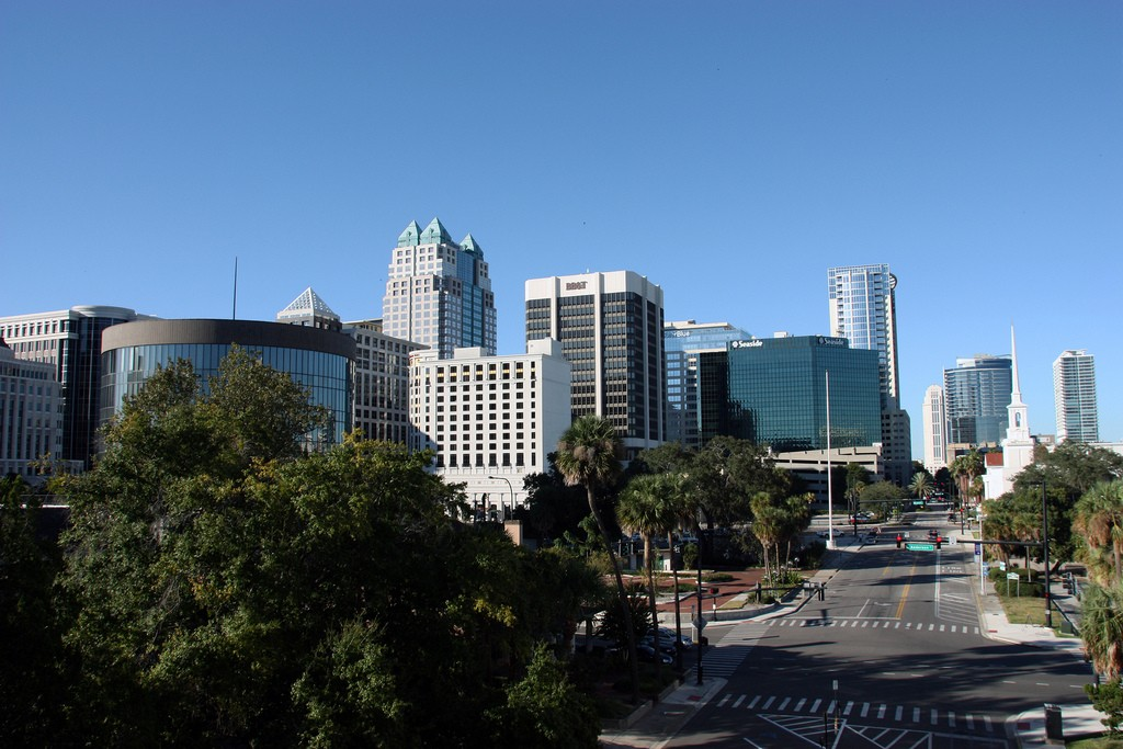 What to do in Orlando: Downtown Orlando, Florida