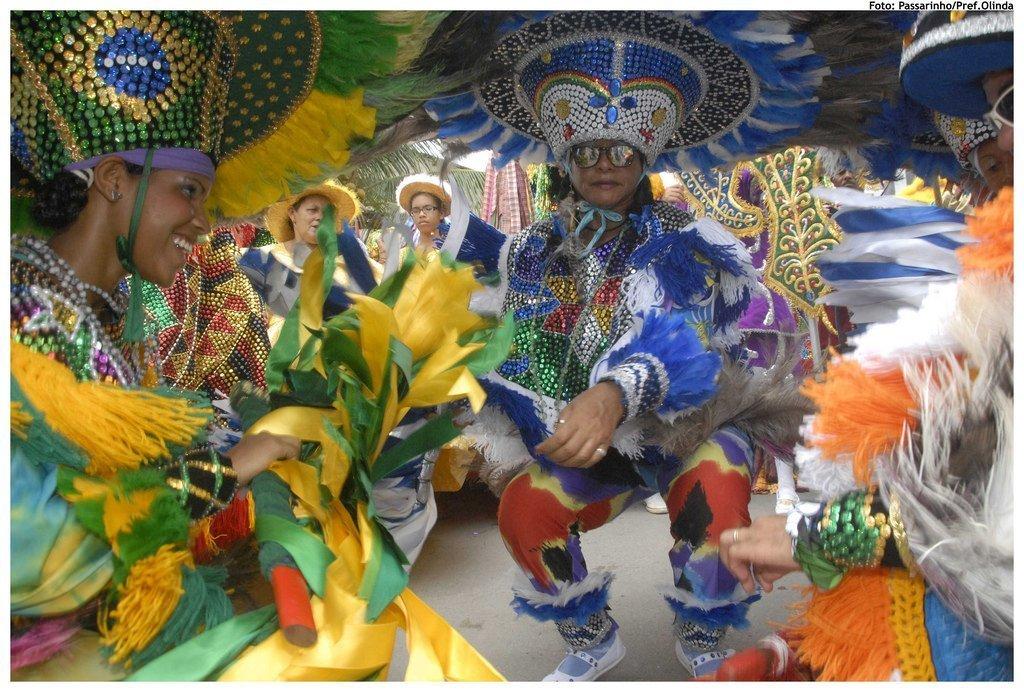 Carnaval in Brazil. Photo by Prefeitura de Olinda via Flickr CC.