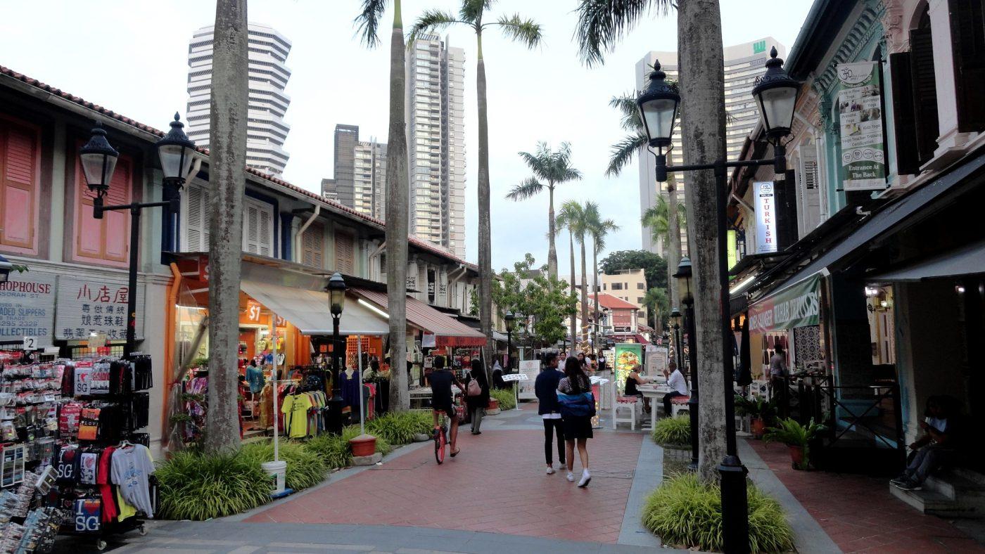 Arab Street, Singapore. Photo by Fabio Achilli via Flickr CC