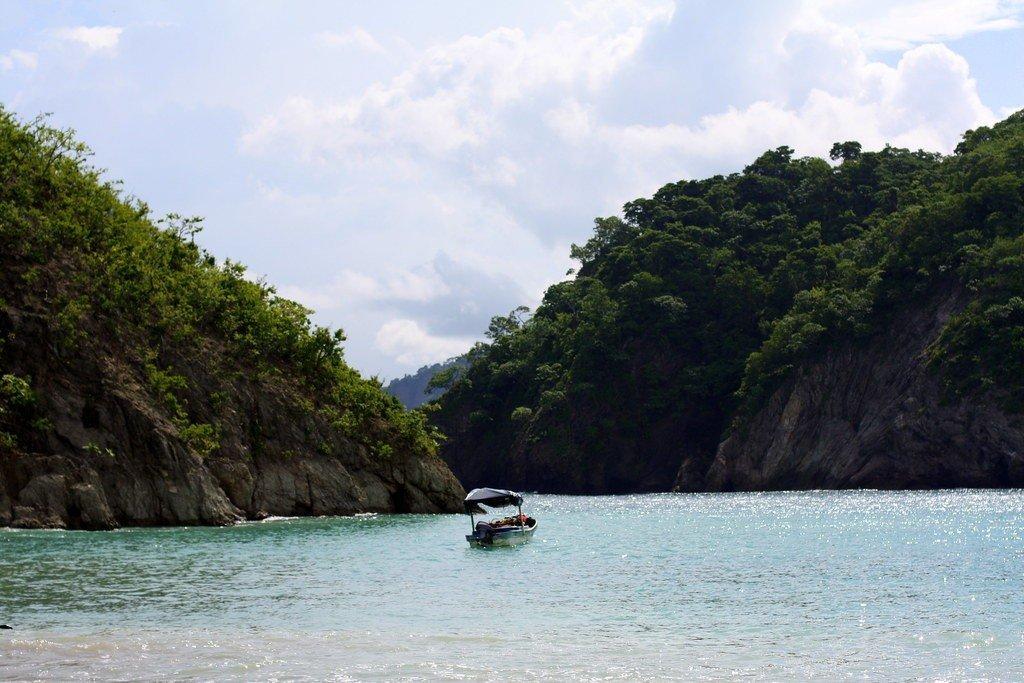 Costa Rica Backpacking adventure - Isla Tortuga