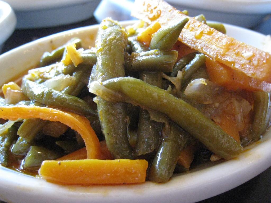 Traditional Ethiopian food Azifa. Photo by Mesob Restaurant via Flickr