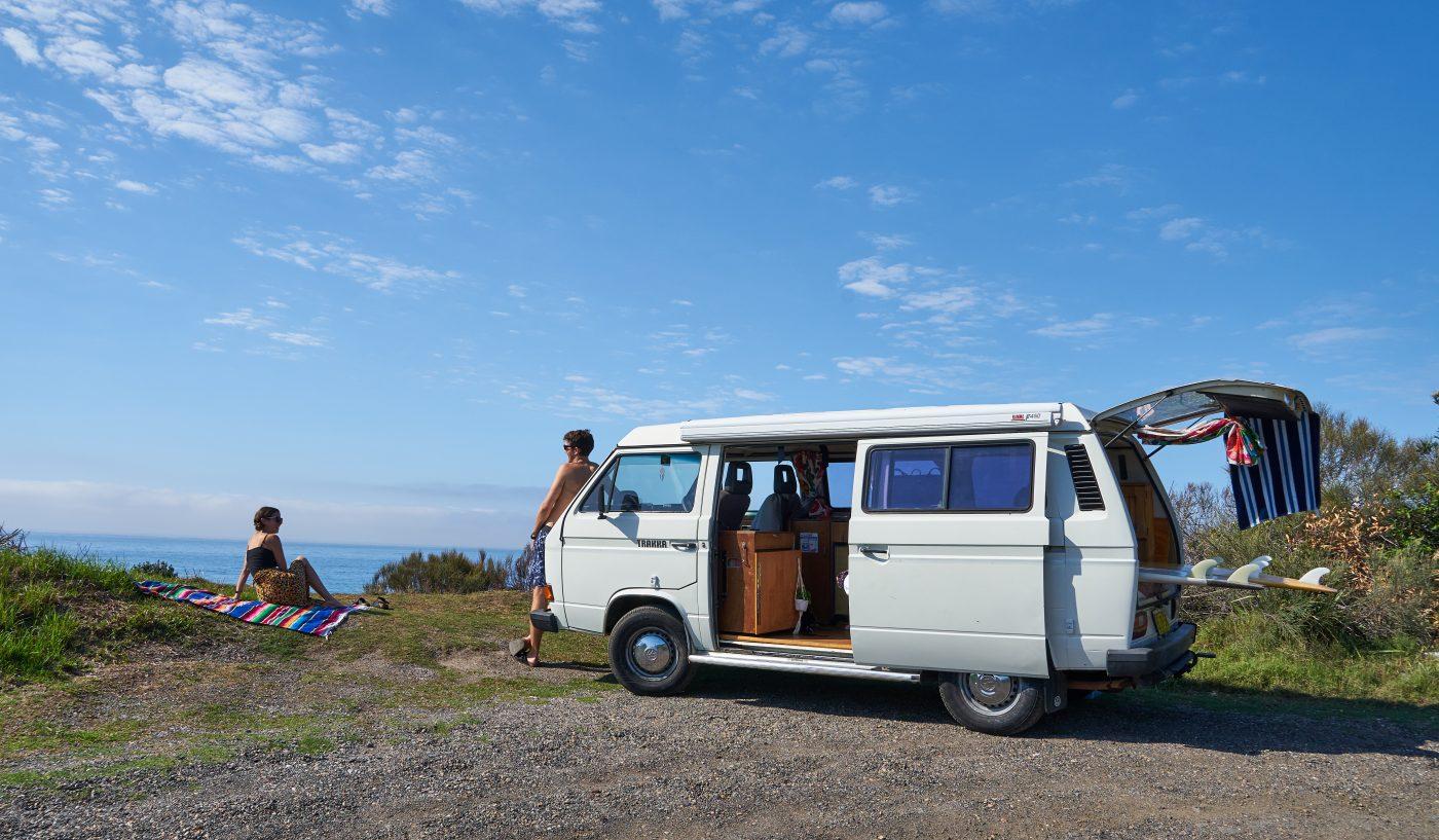 Romantic Getaway: Roadtrip in a van