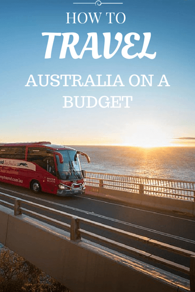 Cost of living in Australia is extremely high, but it is still possible to travel Australia on a budget, you just have to know how!