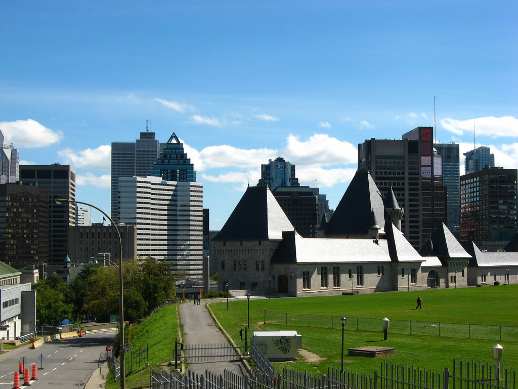 Downtown Montreal photo by Peter Blanchard ( https://www.flickr.com/photos/peterblanchard/) via Flickr.com