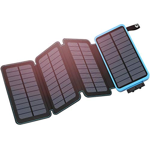 Hiluckey Solar Charger - Our favourite travel accessories