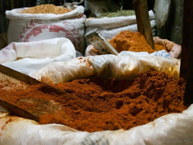 Berbere Spice used in Ethiopian Food. Photo by Ethiopian Shop via Flickr CC