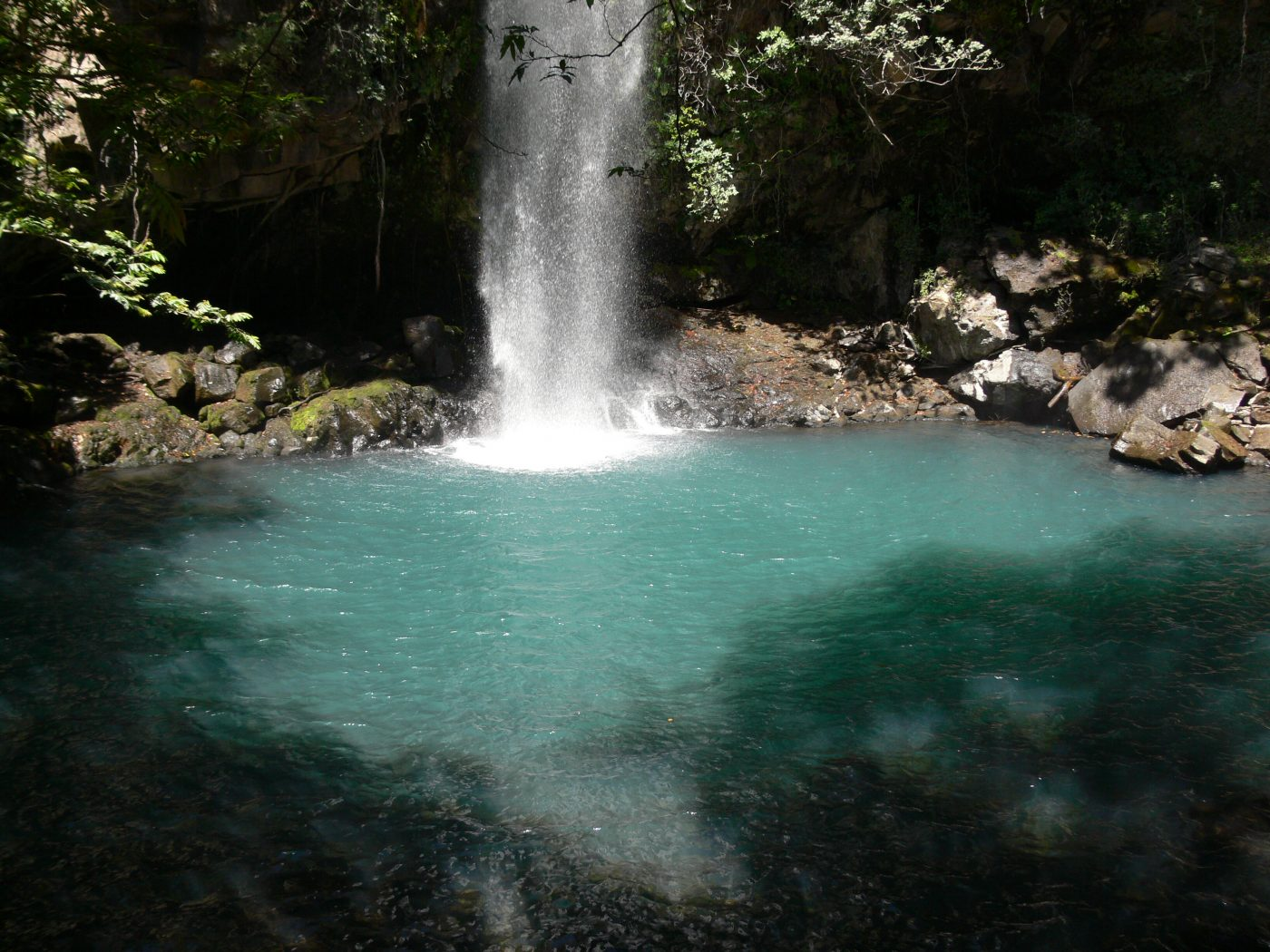 Waterfall in Rincon de la Vieja National Park, Costa Rica