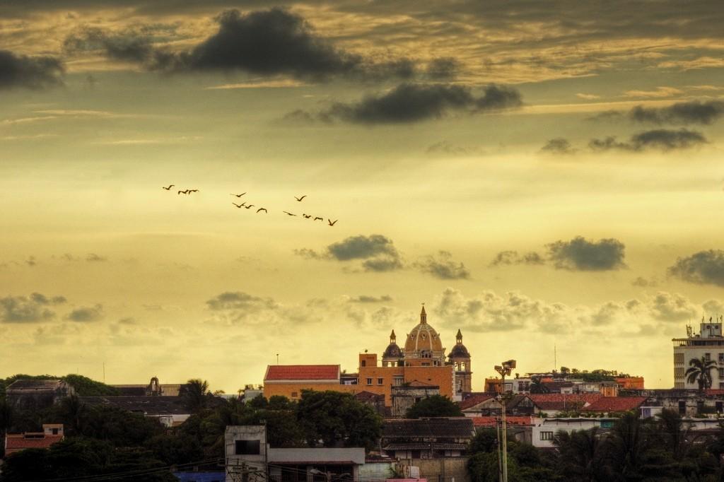 Cartagena at sunset, photo by mariusz kluzniak via Flickr CC