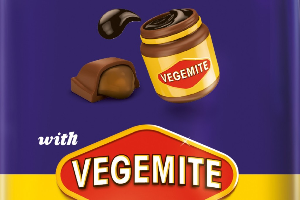 Food to try in Australia: Chocolate with vegemite by Cadbury. Aussie food trend gone a bit too far?