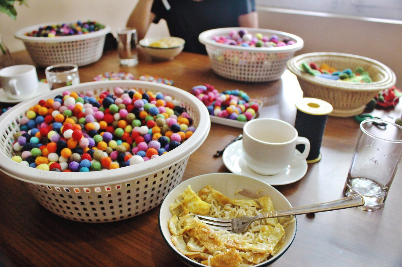 Fair Trade in Nepal: breakfast and crafts