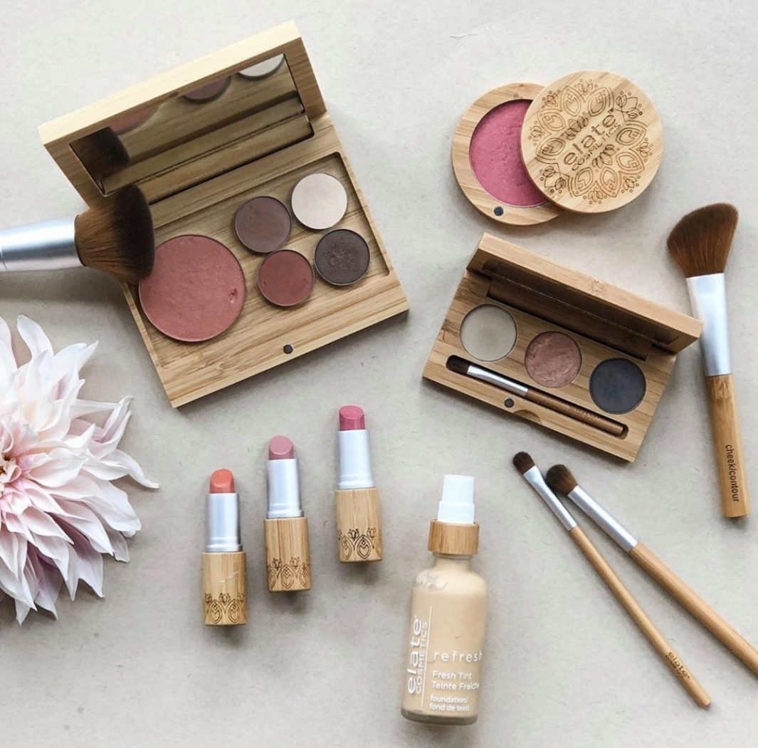 Zero-waste makeup : Elate Cosmetics