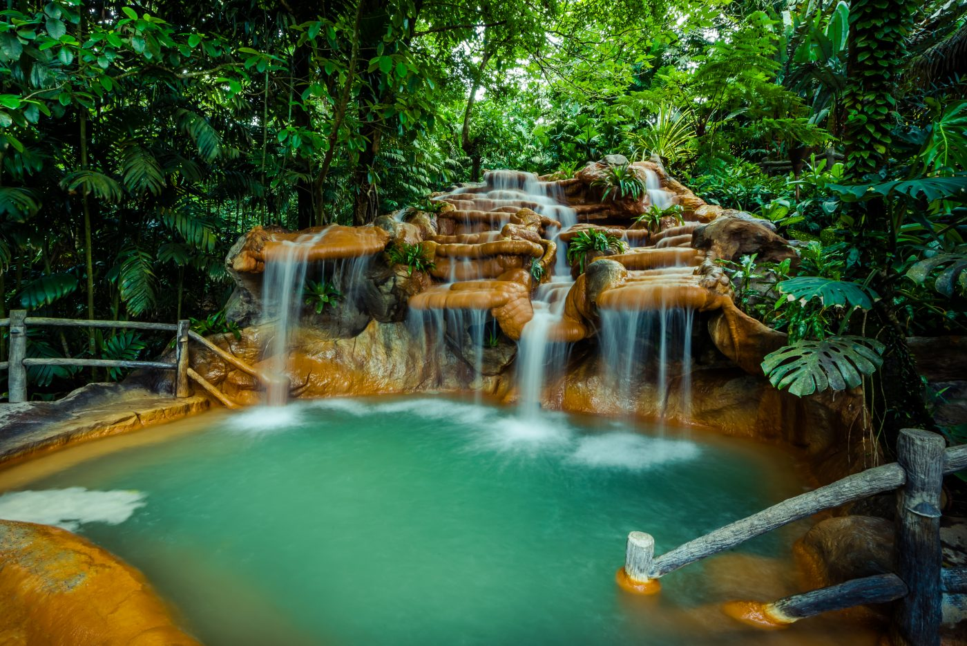 Hot springs in Costa Rica