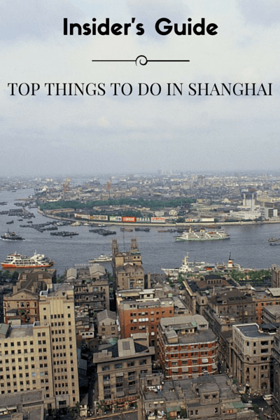 To help you make the most out of your time to Shanghai, I've put together this handy list of the top things to do in Shanghai during your visit.