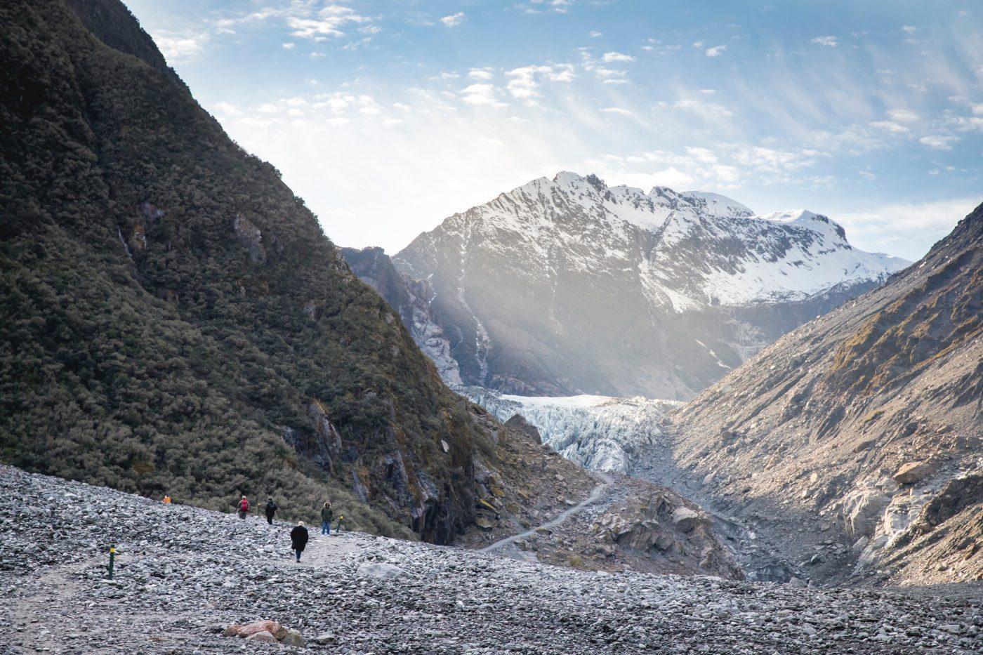 Fox Glacier, West Coast, South Island. Photo by Miles Holden