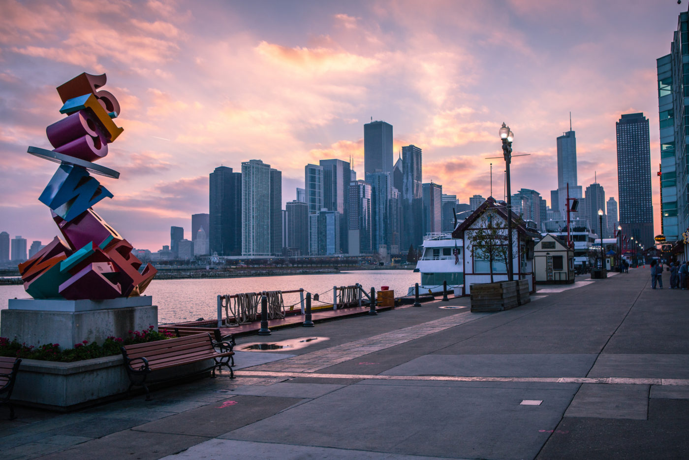 Navy Pier, Chicago. Photo by Anh Dinh via Flickr CC