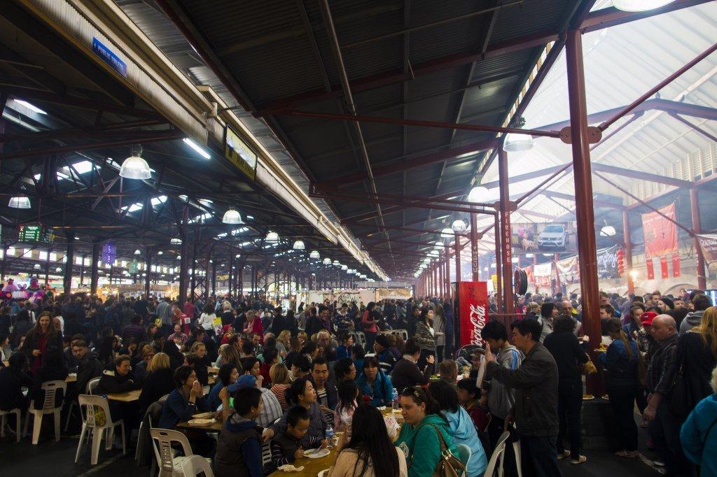 Tips for Visiting Melbourne: At Suzuki Night Market in Queen Victoria Market, Melbourne