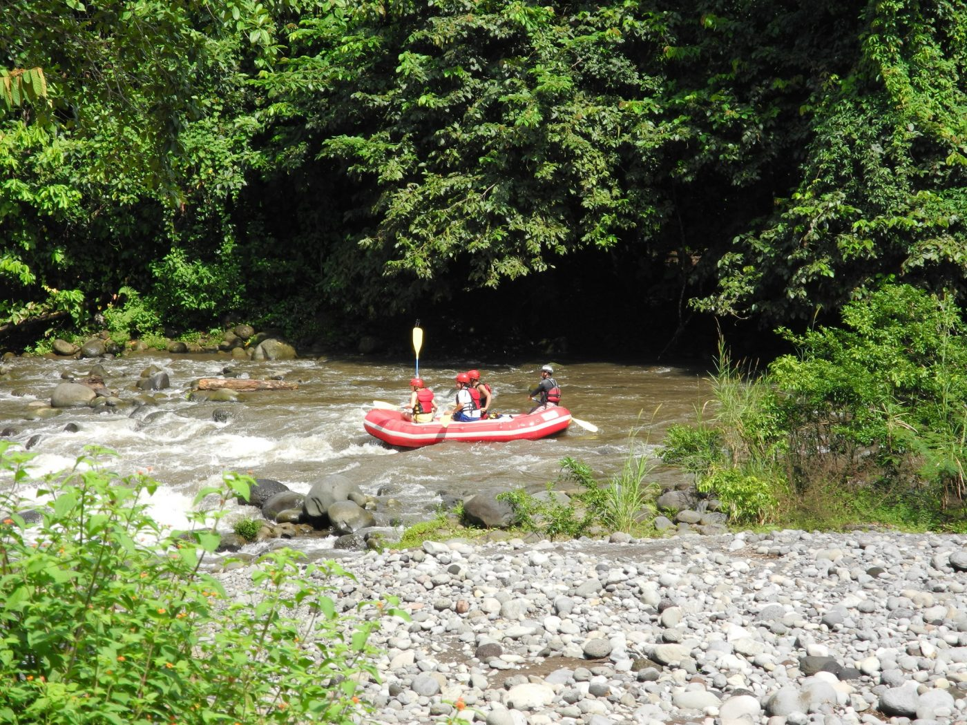 Rafting on Sarapiqui river. Photo by m.prinke via Flickr CC