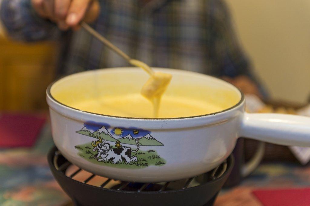 Cheese Fondue in Switzerland