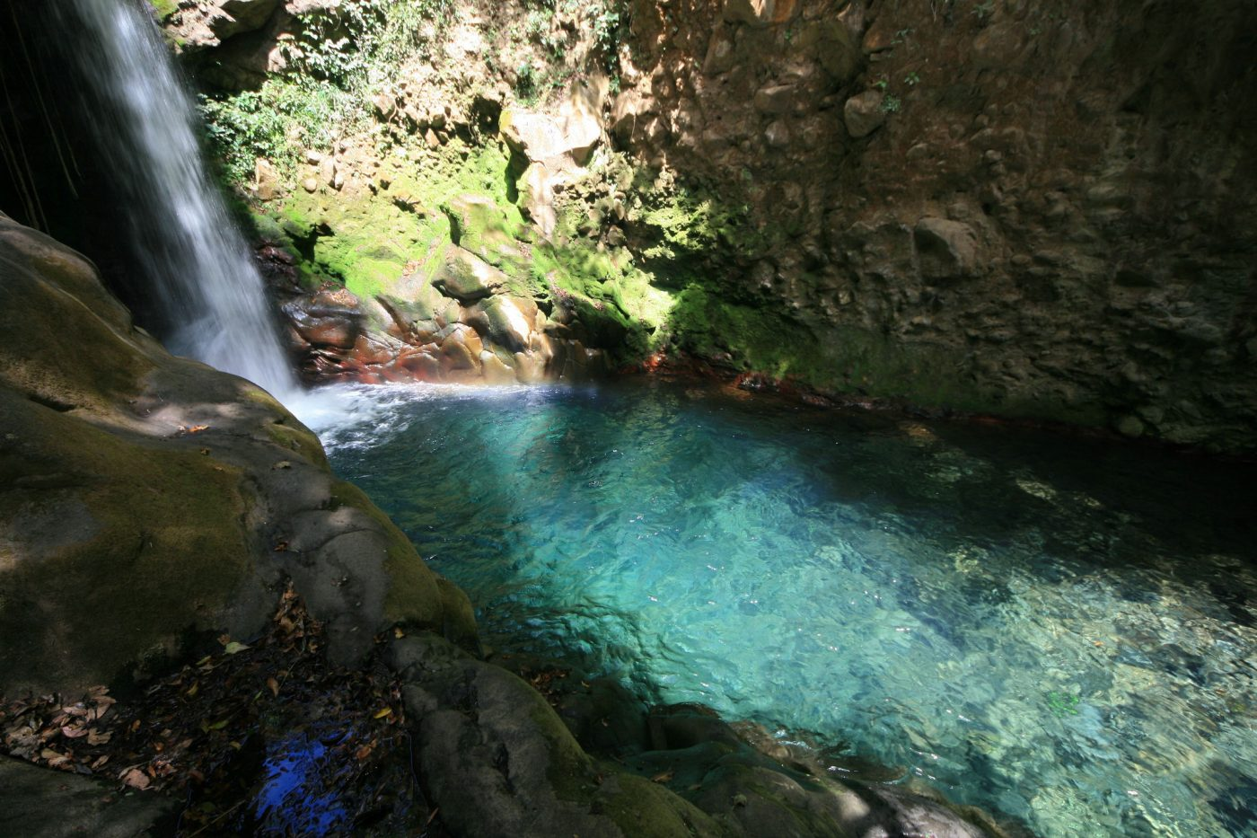 Swimming hole in Rincon de la Vieja National Park, Costa Rica.